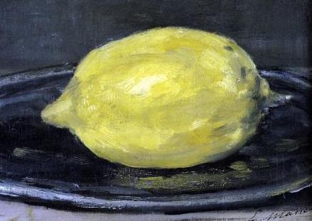Il limone-Eduard Manet